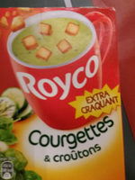 Courgettes et croûtons - Product - fr