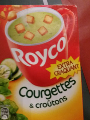 Courgettes et croûtons - Product