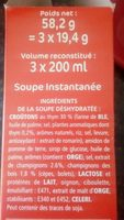 Forestiere & croûtons - Ingrediënten