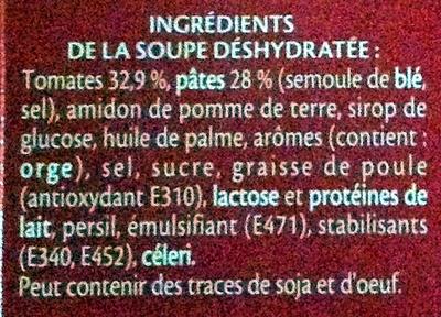 Royco tomates - Ingrediënten - fr