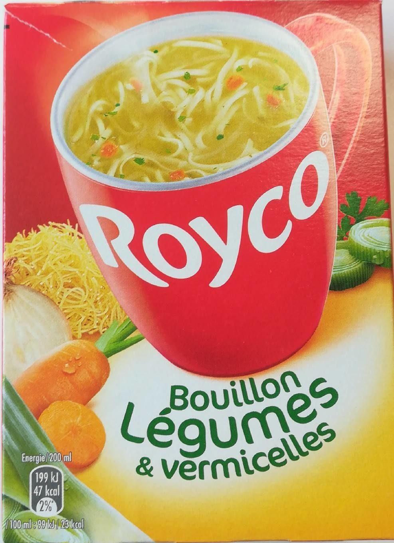 Bouillon de légumes et vermicelles - Produit