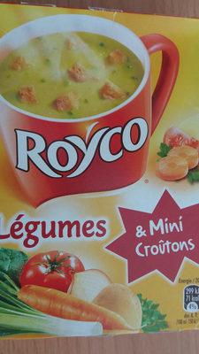 Soupe légumes & Mini croûtons, Roco - Product - fr