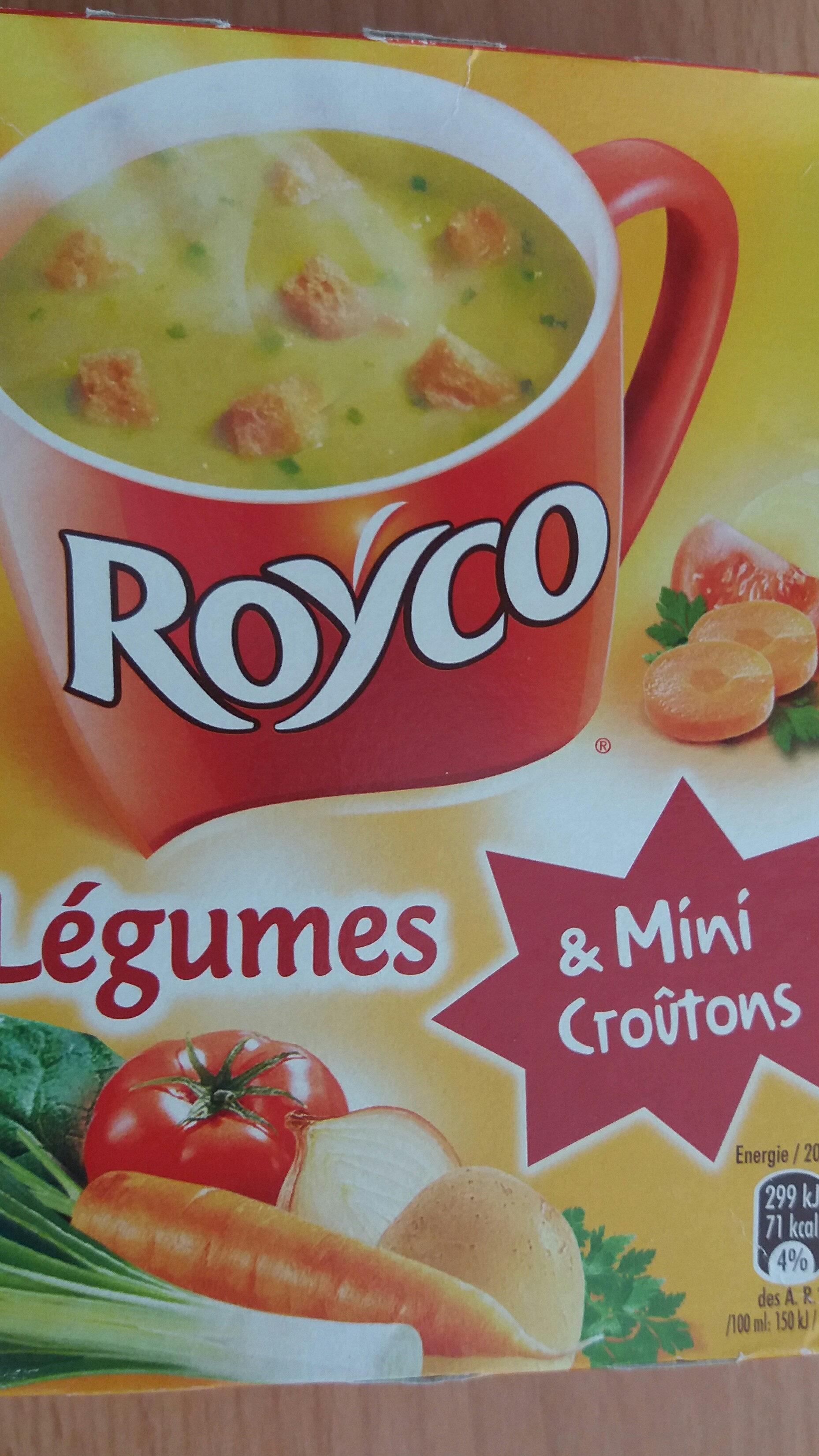 Soupe légumes & Mini croûtons, Roco - Produit