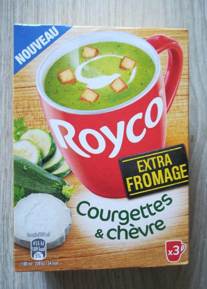 Soupe courgettes et chèvre - Prodotto - en