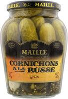 Maille Cornichons à la Russe Bocal 440g - Produit