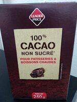 100% cacao non sucré - Produit - fr