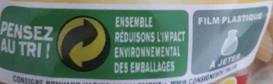 Penne Rigate - Recycling instructions and/or packaging information - fr