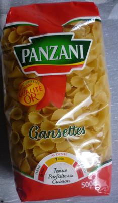 Pâtes Gansettes - Product