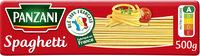 Panzani spaghetti - Product - fr