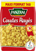 Panzani coudes rayés 1kg - Product