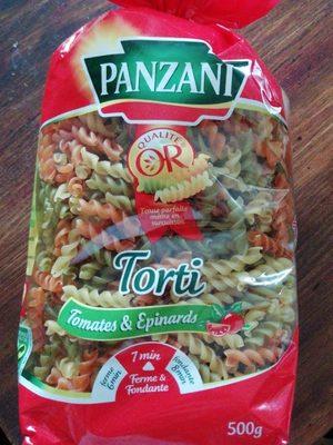 Torti Tomates & Épinards - Product