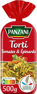 Panzani torti tomates & epinards - Product - fr