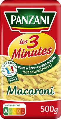 Macaroni 3 minutes - Product - fr