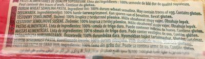 Panzani Spaghetti n.5 - Ingredients - it