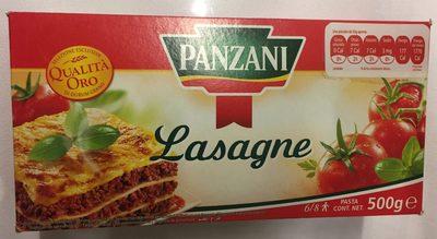 Pâtes Lasagne Panzani (500G) - Producto - es
