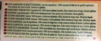 Pâtes Lasagne Panzani (500G) - Ingredientes - es