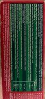 Pâtes Lasagne Panzani (500G) - Información nutricional - fr