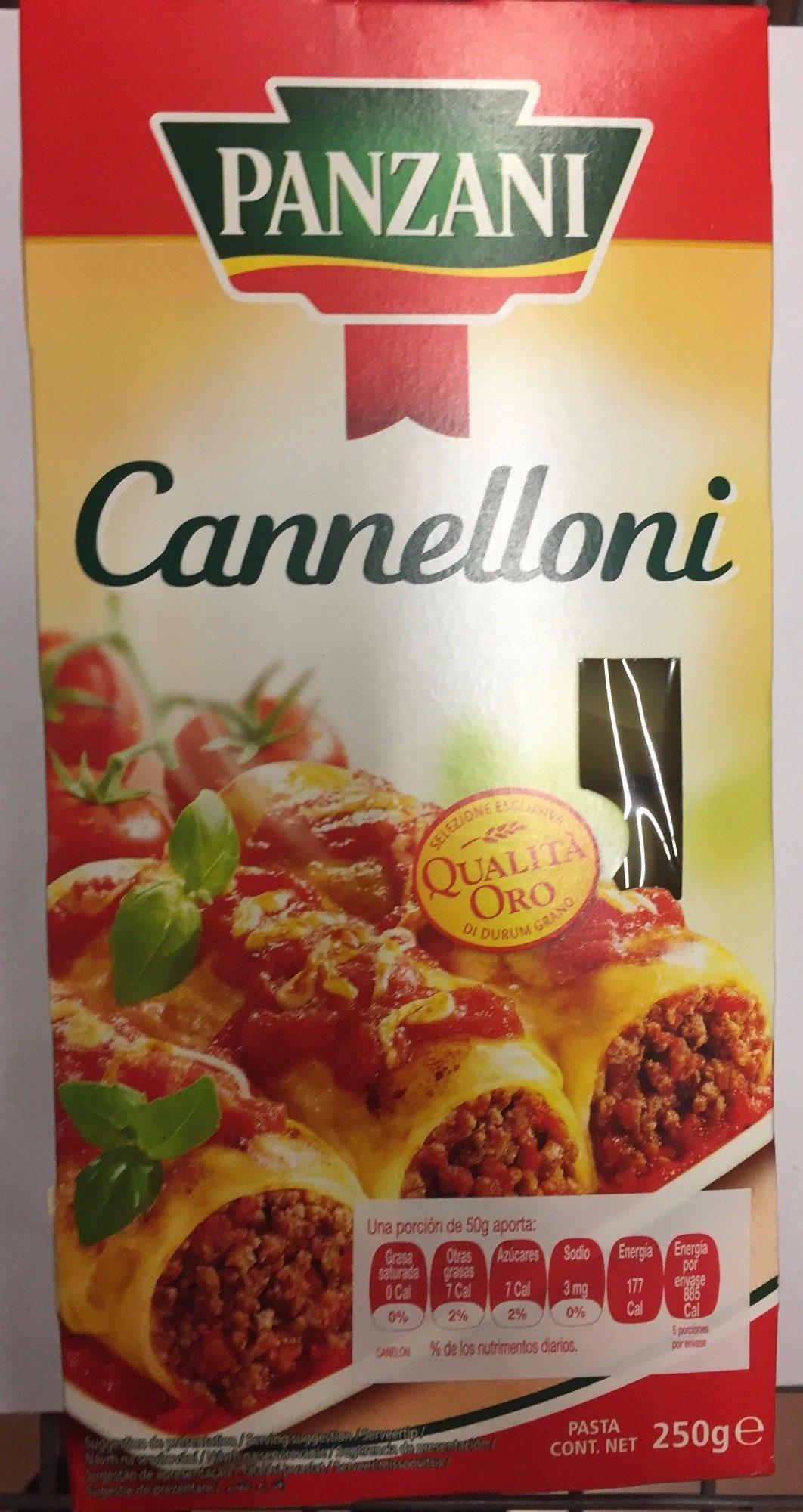 Panzani Canaelloni - - Producto - es
