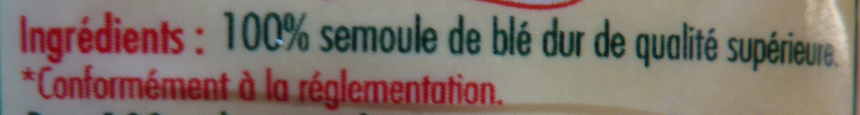 Pz semoule fine 500 v2 /6 - Ingredienti - fr