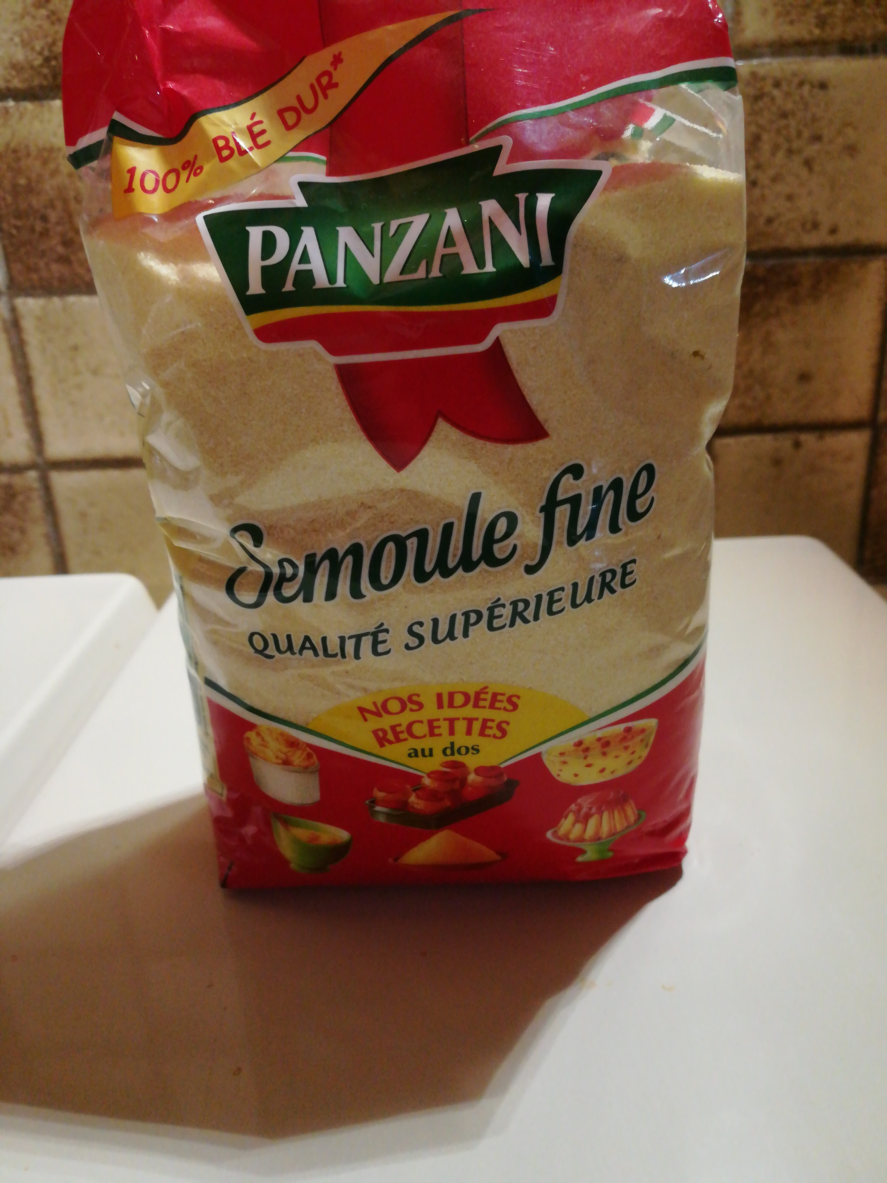 SEMOULE FINE - Produit