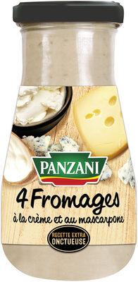 Panzani-spf-sauce 4 fromages - Produkt - fr