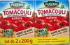 Tomacouli 100% Tomates Fraîches nature (Lot de 2 x 200 g) - Product