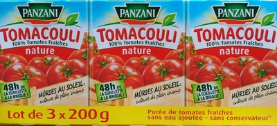 Tomacouli nature - Product