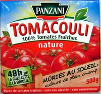 Tomacouli 100% Tomates Fraîches nature - Product - fr