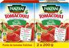Panzani - Purée de tomates au basilic Tomacouli 2x200g - Product