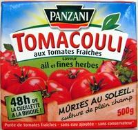 Tomacouli aux Tomates Fraîches saveur ail et fines herbes 500 g - Product - fr