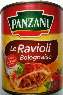 Le ravioli bolognaise farce au b uf panzani 800 g for Origine du mot farce