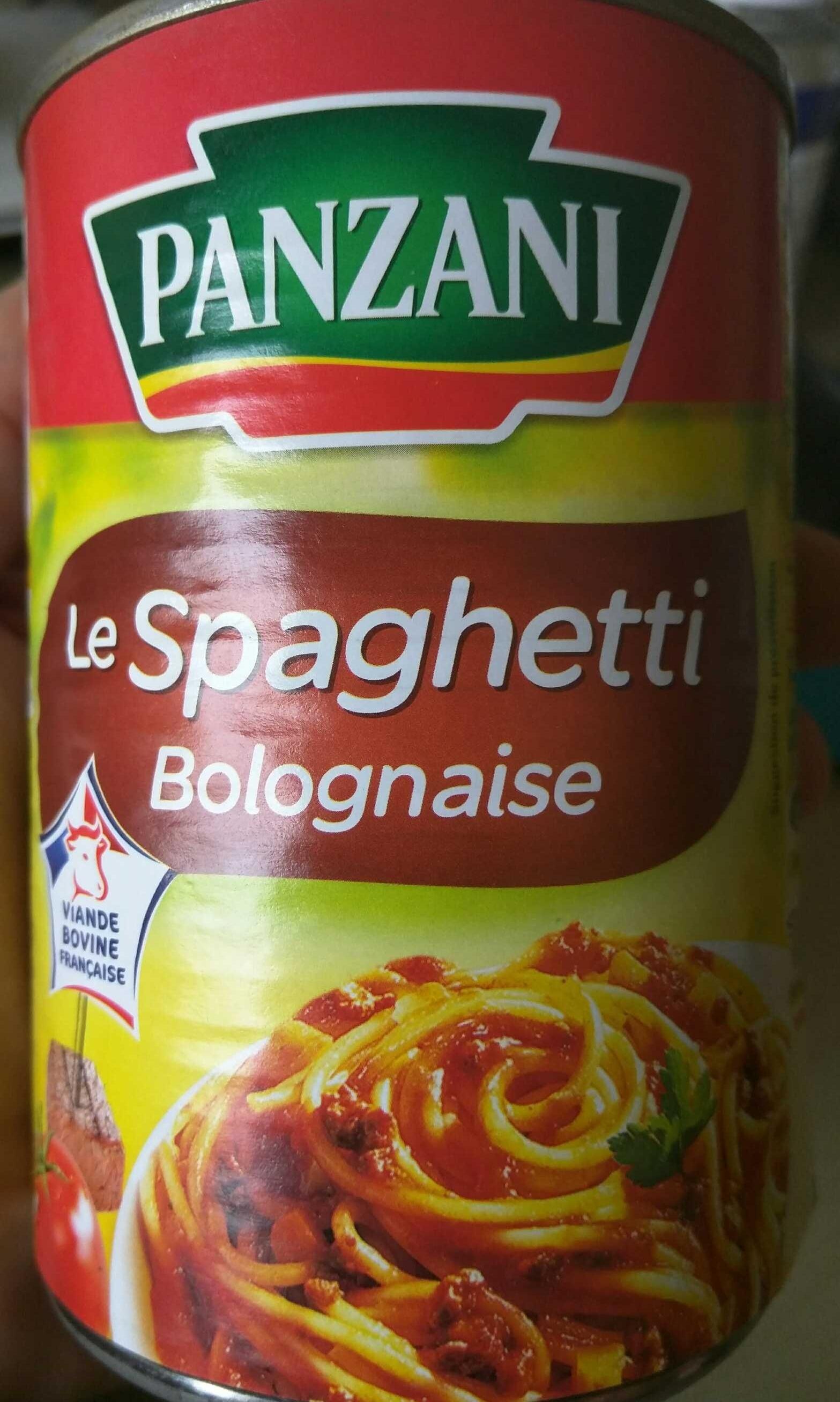 Le Spaghetti Bolognaise - Produit - fr