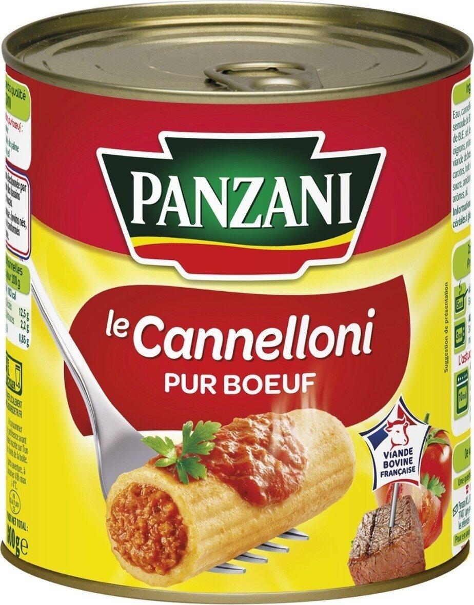 Le Cannelloni (100 % pur Bœuf) - Produit - fr
