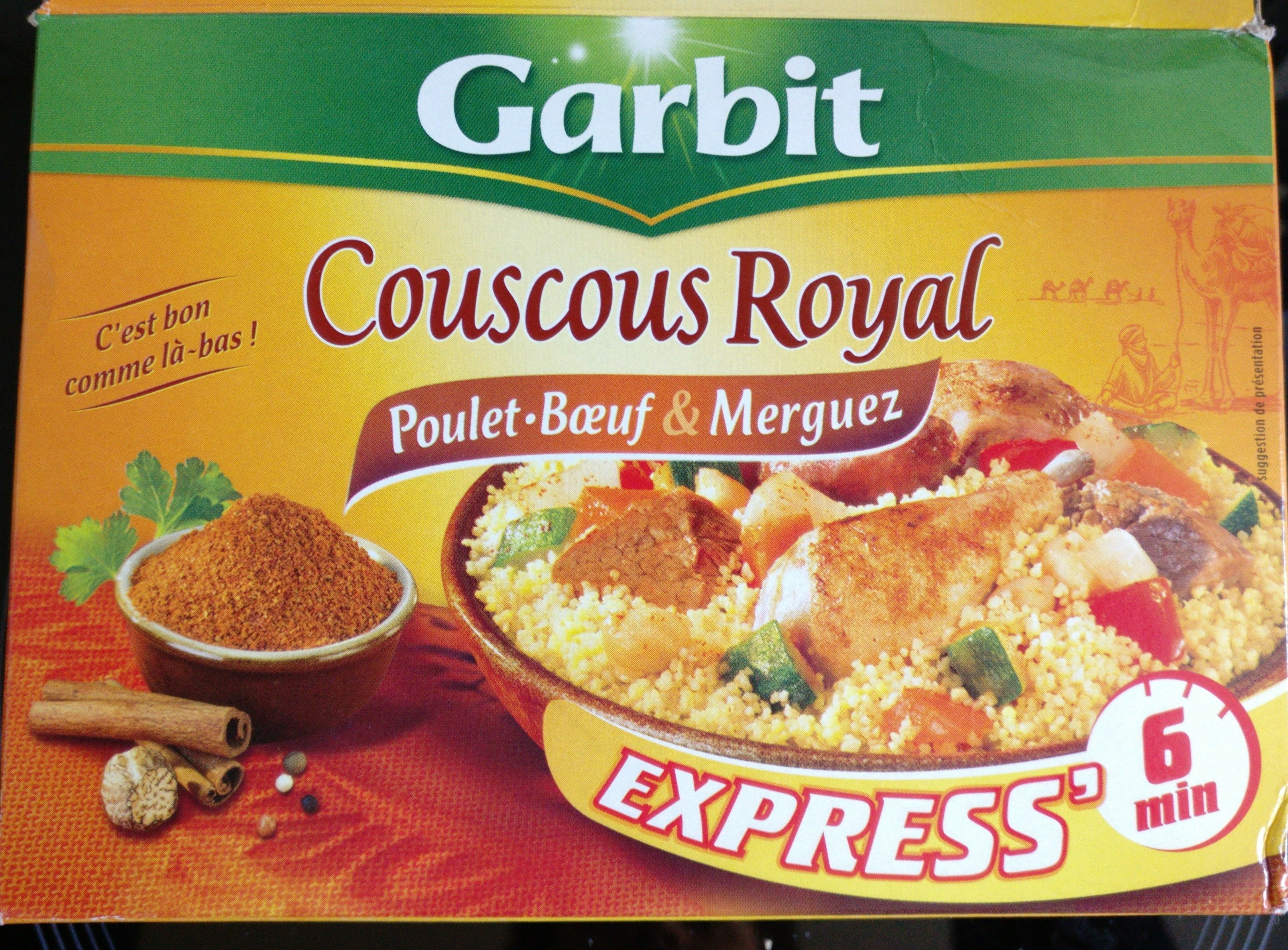 Couscous Royal Poulet, Bœuf et Merguez - Product