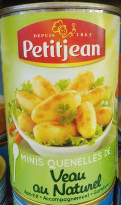 Minis Quenelles de Veau au Naturel - Produit - fr