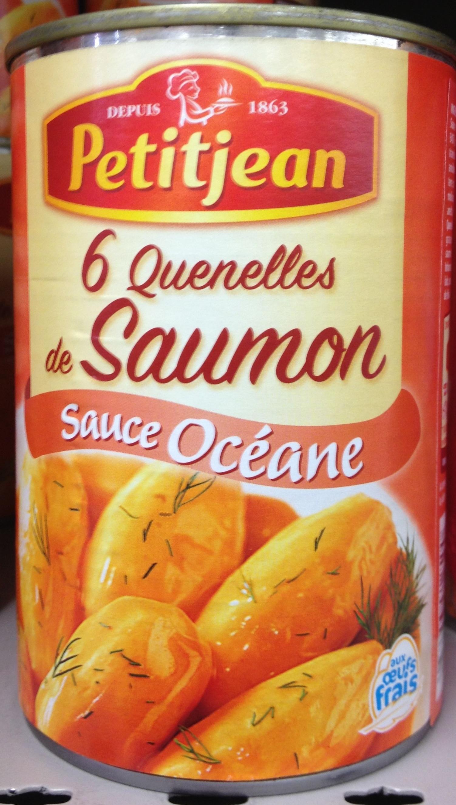 6 Quenelles de Saumon, Sauce Océane - Product - fr