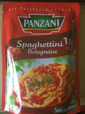 Spaghettini Bolognaise (Les Cuisinées Express) - Product - fr