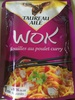 Wok Nouilles au poulet curry - Product