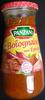 Sauce bolognaise aux épices 400 g Panzani - Product