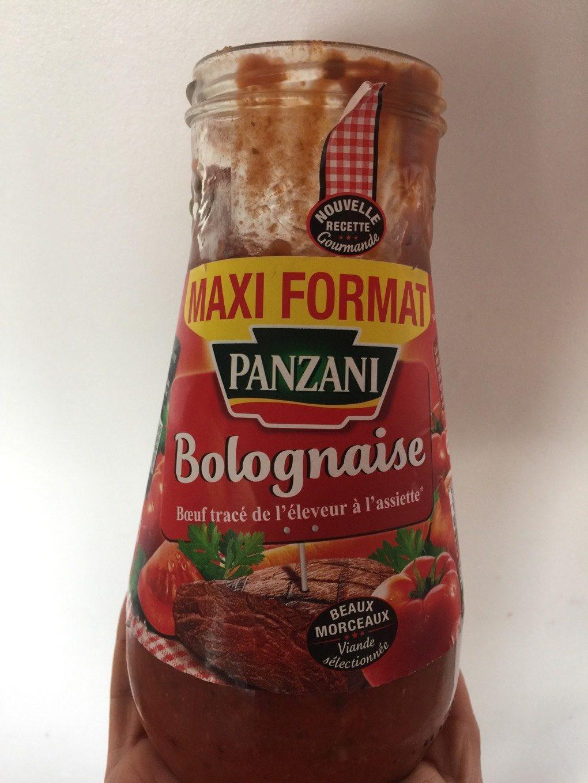 Sauce pour pâtes - Bolognaise - Produit