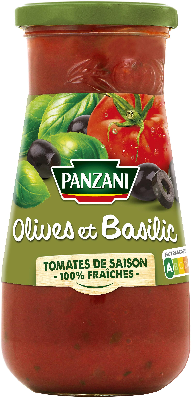 Panzani - spf - sauces olives & basilic - Produit - fr