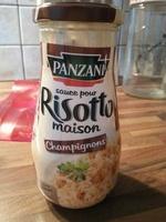 Sauce pour risotto maison Champignons - Produit