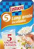 Lustucru riz 5 min sachets 450g (5x90g) - Product
