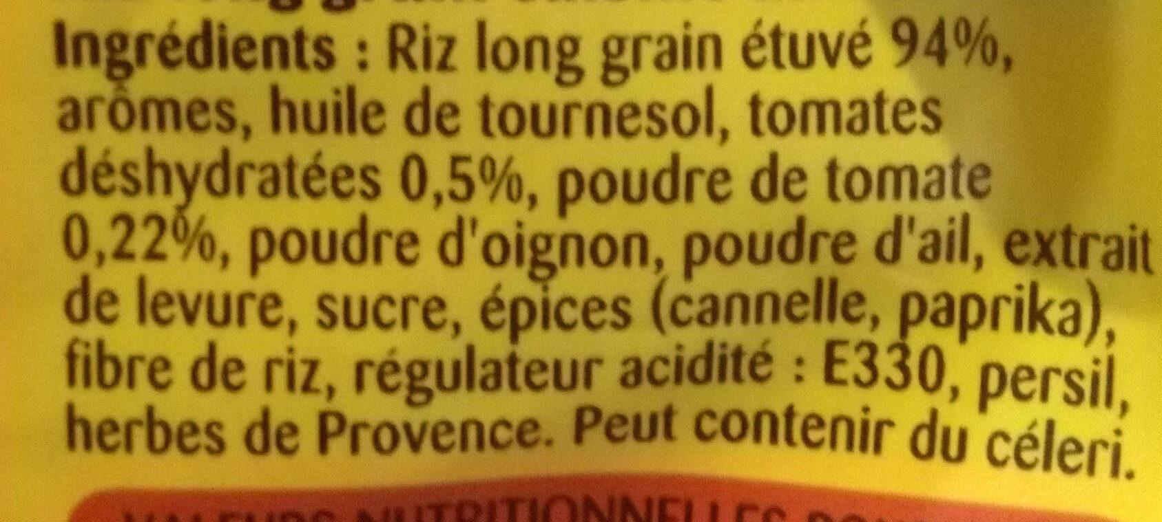 Lustucru riz a poeler tomates - Ingredientes - fr