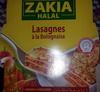 Lasagnes à la Bolognaise Halal - 300 g - Zakia - Product