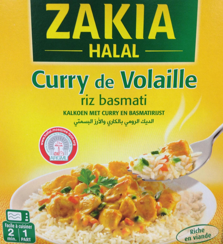 Curry de Volaille riz basmati - Halal - Produit - fr