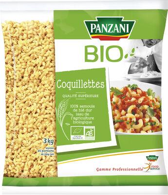 Panzani coquillette bio qualite superieure 3kg - Produit - fr