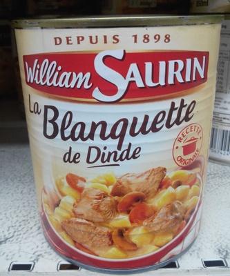 La Blanquette de Dinde - Produit - fr
