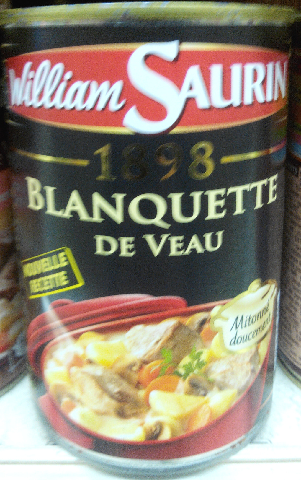 1898 Blanquette de veau - Product