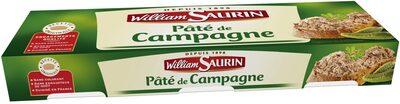 Pack 3X1 / 10 Pate Campagne William Saurin - Produit - fr